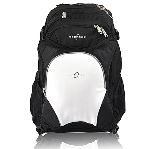 obersee bern diaper bag backpack with detachable cooler in white buybuy baby. Black Bedroom Furniture Sets. Home Design Ideas