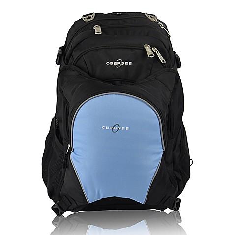 obersee bern diaper bag backpack with detachable cooler in cloud bed bath beyond. Black Bedroom Furniture Sets. Home Design Ideas