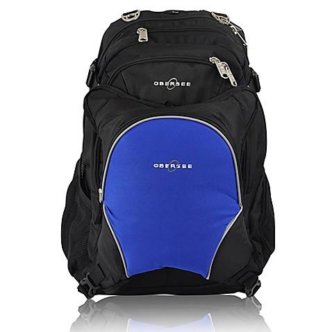 obersee bern diaper bag backpack with detachable cooler in royal blue bed bath beyond. Black Bedroom Furniture Sets. Home Design Ideas