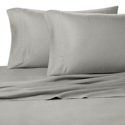 Pure BeechR 100 Modal Flannel King Sheet Set In Grey