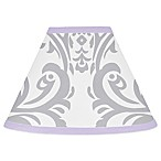Sweet Jojo Designs Elizabeth Lampshade in Lavender/Grey