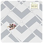 Sweet Jojo Designs Chevron Memo Board in Grey/White