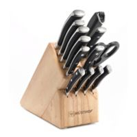 Wusthof® Classic Ikon 14-Piece Wood Knife Block Set