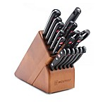 Wusthof® Gourmet 18-Piece Promo Cherry Knife Block Set