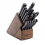Wusthof® Gourmet 18-Piece Promo Walnut Knife Block Set