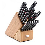 Wusthof® Gourmet 18-Piece Promo Bamboo Knife Block Set