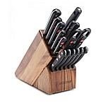 Wusthof® Gourmet 18-Piece Promo Acacia Knife Block Set