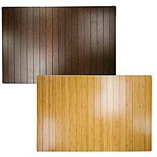 Bamboo 2 Foot X 3 Foot Floor Mat Bed Bath Amp Beyond