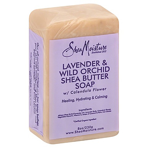 Sheamoisture 0 8 Oz Shea Butter Soap In Lavender And Wild