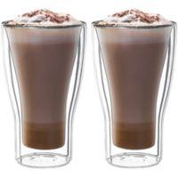 Luigi Bormioli Thermic Double-Wall Insulated Latte Macchiato Cups (Set of 2)
