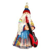 Glitterazzi Joy to the World Collectibles Nashville Santa Christmas Ornament