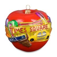 Joy to the World Collectibles The Big Apple Christmas Ornament