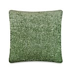 Austin Horn Collection Elite Velvet Reversible Square Throw Pillow in Sage Green