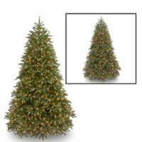 National Tree 7-Foot 6-Inch Feel-Real® Jersey Fraser Christmas Tree with Color Changing Lights