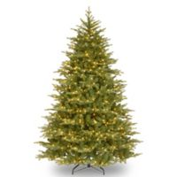 National Tree Feel Real® 9-Foot Nordic Spruce Hinged Pre-Lit Christmas Tree with Clear Lights