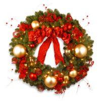 Buy 36 Outdoor Christmas Wreaths Bed Bath Beyond