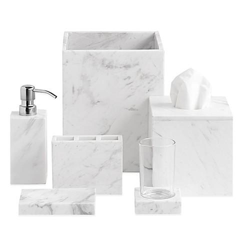 camarillo marble bath ensemble bed bath beyond. Black Bedroom Furniture Sets. Home Design Ideas