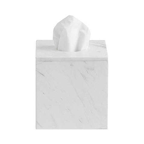 Camarillo Marble Boutique Tissue Box Cover Bed Bath Amp Beyond