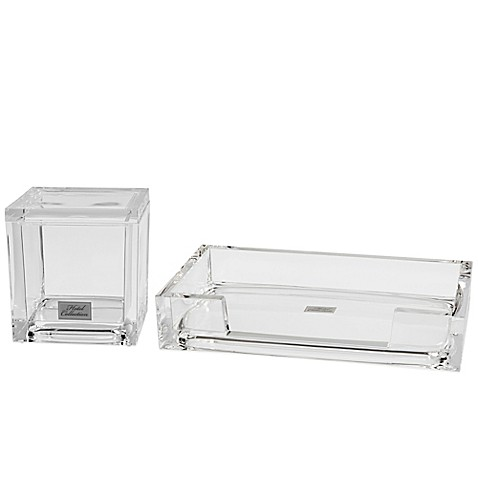 Lucent bath accessory collection bed bath beyond for Bathroom decor bed bath and beyond