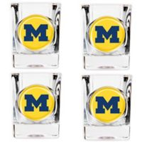 University of Michigan Shot Glasses (Set of 4)