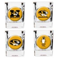 University of Missouri Shot Glasses (Set of 4)
