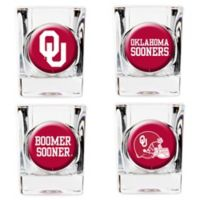 University of Oklahoma Shot Glasses (Set of 4)