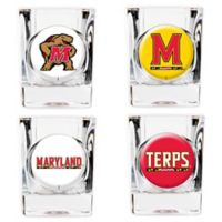 University of Maryland Shot Glasses (Set of 4)