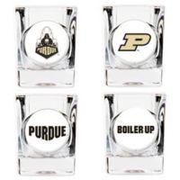 University of Purdue University Shot Glasses (Set of 4)