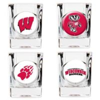 University of Wisconsin Shot Glasses (Set of 4)