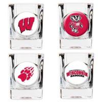 University of Wisconsin Shot Glasses (Set of 4)