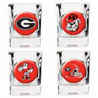 University of Georgia Shot Glasses (Set of 4)