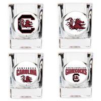 University of South Carolina Shot Glasses (Set of 4)