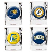 NBA Indiana Pacers Shot Glasses (Set of 4)