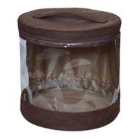 JJ Cole® Clear Storage Bin in Cocoa (Set of 2)