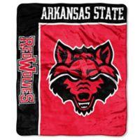 Arkansas State University Raschel Throw