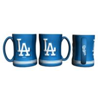 MLB Los Angeles Dodgers Sculpted Relief Mug