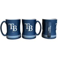 MLB Tampa Bay Rays Sculpted Relief Mug