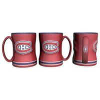 NHL Montreal Canadiens Sculpted Relief Mug