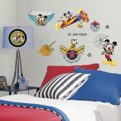 Disney® RoomMates Mickey Mouse Clubhouse Pilot Wall Decals Part 57