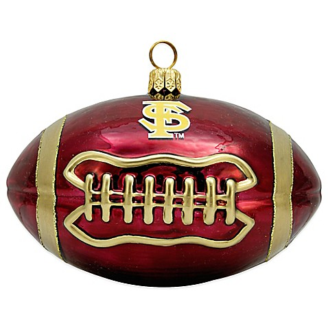 florida state university football christmas ornament bed