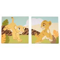 Disney® Lion King 2-Piece Simba Wall Art Set
