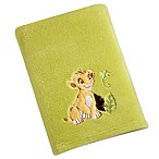Disney® Lion King Solid Applique Fleece Blanket
