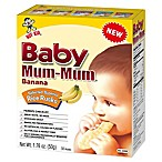 Hot-Kid® 1.76 oz. 24-Count Baby Mum-Mum® Banana Selected Superior Rice Biscuits