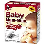 Hot-Kid® 1.76 oz. 24-Count Baby Mum-Mum® Apple Selected Superior Rice Biscuits