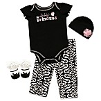 AD Sutton Baby Essentials 4-Piece  Daddy's Princess  Layette Set
