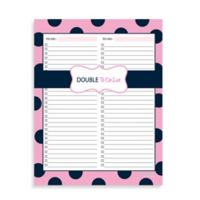Kahootie Co® 2-Category To Do Notepad in Pink/Blue