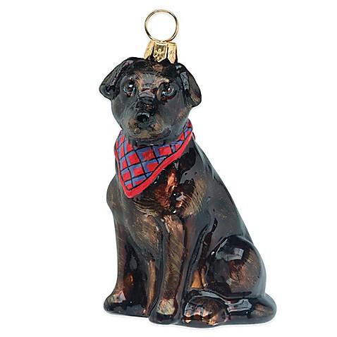 Buy Pet Set Joy The World Collectibles Chocolate Labrador Retriever With Bandana Christmas