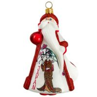 Gliterazzi Joy to the World Collectibles Glitterazzi International Santa Japan Christmas Ornament