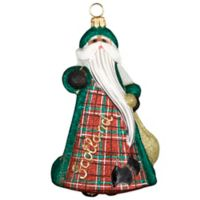 Glitterazzi Joy to the World Collectibles International Scottish Santa
