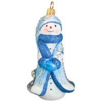 Glitterazzi Joy to the World Collectibles Snowy Owl Snowman